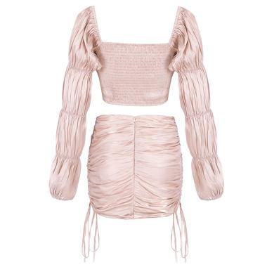 粉杏色 L/pink & apricot-L